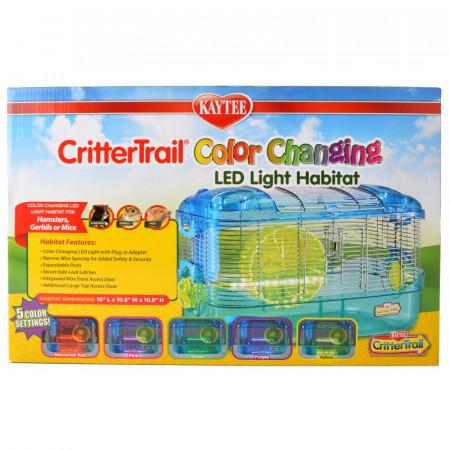 Kaytee CritterTrail Color Changing LED Light Habitat alternate img #1