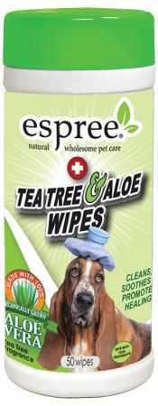 Espree Tea Tree & Aloe Wipes alternate img #1