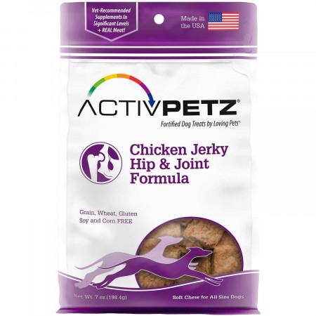 ActivPetz Chicken Jerky Hip and Joint Formula Dog Treats alternate img #1