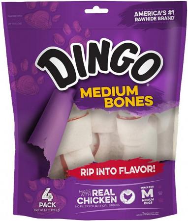 Dingo Medium Bones with Real Chicken alternate img #1