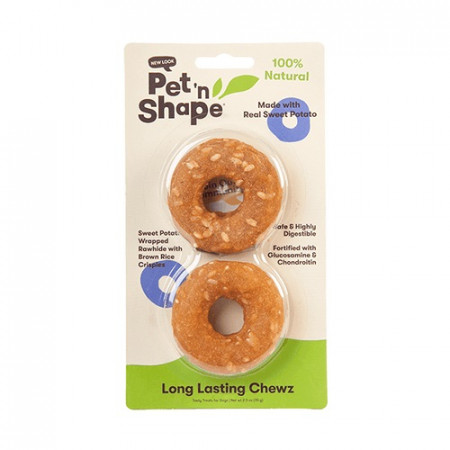 Pet 'n Shape Long Lasting Chewz Sweet Potato Rings alternate img #1