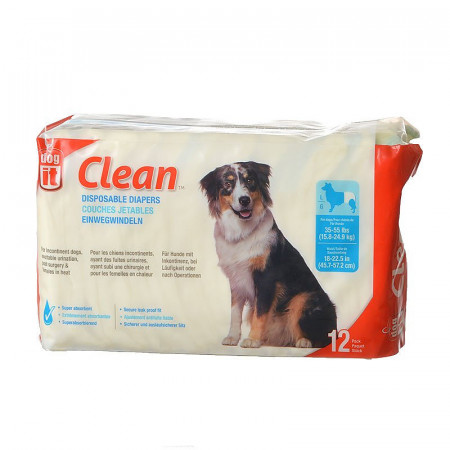 DogIt Clean Disposable Diapers - Large alternate img #1
