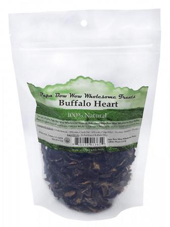 Papa Bow Wow Buffalo Heart Dog Treats alternate img #1