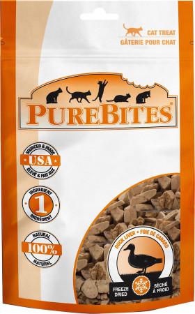 PureBites Duck Liver Freeze Dried Cat Treats alternate img #1
