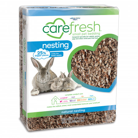 Carefresh Nesting Small Pet Bedding - Natural alternate img #1
