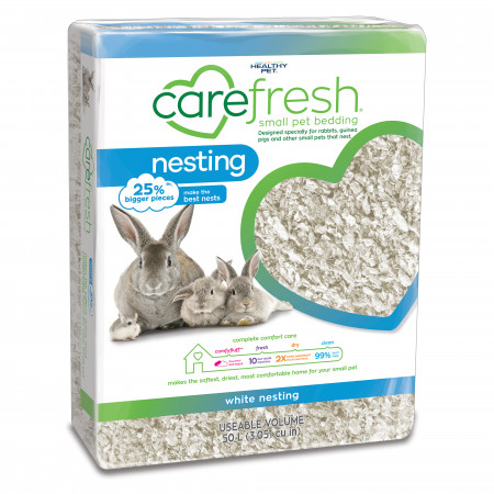 Carefresh Nesting Small Pet Bedding - White alternate img #1