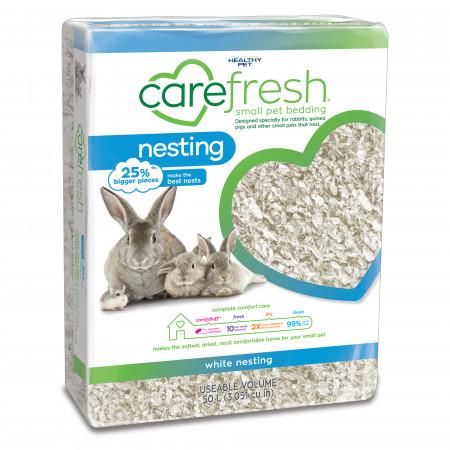 Carefresh Nesting Small Pet Bedding - White alternate img #1