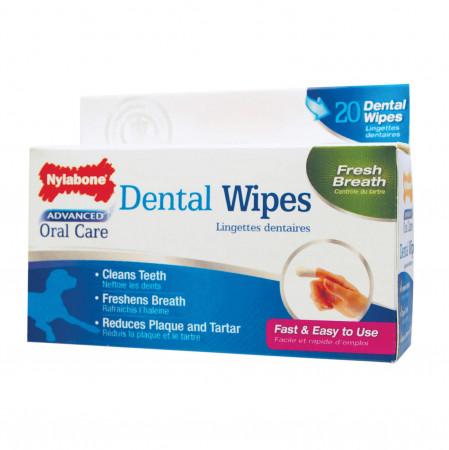 Nylabone Advanced Oral Care Dental Wipes alternate img #1
