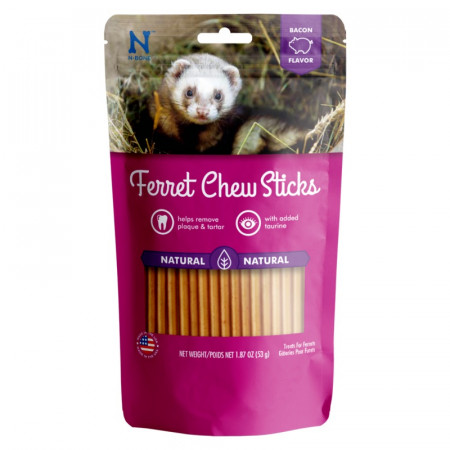 N-Bone Ferret Chew Sticks - Bacon Flavor alternate img #1