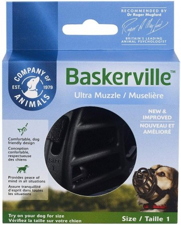 Company of Animals Baskerville Ultra Muzzle for Dogs alternate img #1
