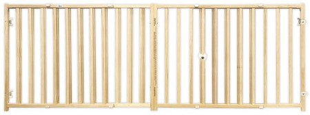 Four Paws Smart Expandable Extra Wide Wood Gate alternate img #2
