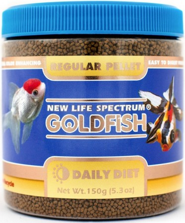 New Life Spectrum Goldfish Food Regular Pellets alternate img #1