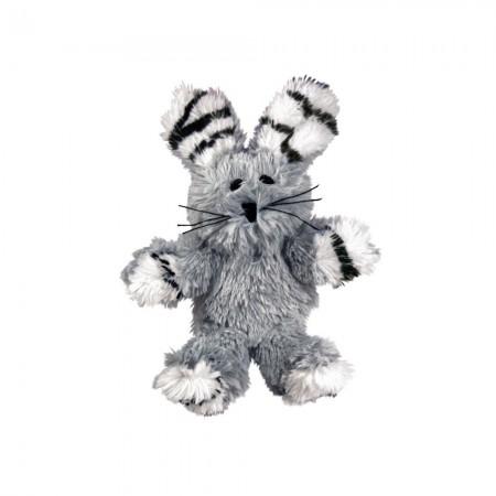 KONG Softies Fuzzy Bunny Cat Toy alternate img #2