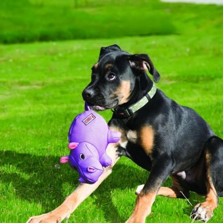 KONG Phatz Dog Toy - Hippo alternate img #3