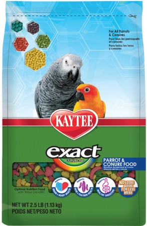 Kaytee Exact Rainbow Optimal Nutrition Diet - Parrot & Conure alternate img #1