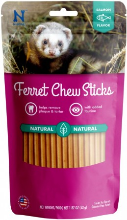 N-Bone Ferret Chew Sticks - Salmon Flavor alternate img #1