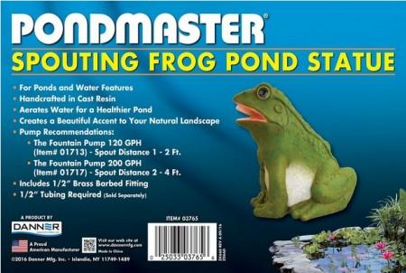 Pondmaster Resin Frog Spitter alternate img #1