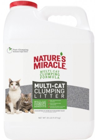 Natures Miracle Multi-Cat Clumping Clay Litter alternate img #1