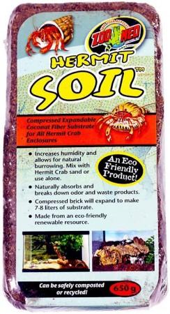 Zoo Med Hermit Crab Soil Brick alternate img #1