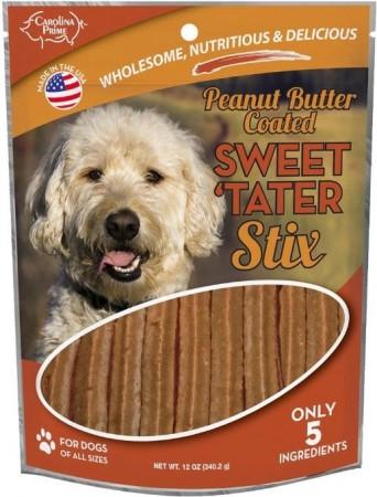 Carolina Prime Sweet Tater and Peanut Butter Stix alternate img #1