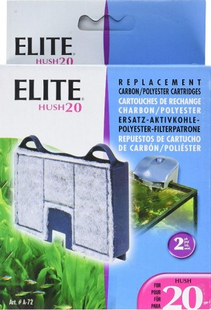 Elite Hush 20 Replacement Carbon / Polyester Cartridges alternate img #1