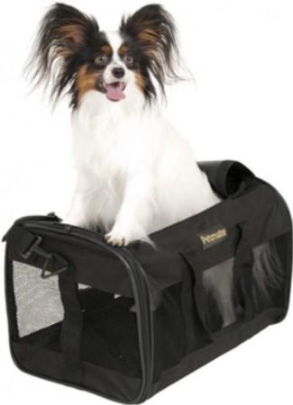 Petmate Soft Sided Kennel Cab Pet Carrier - Black alternate img #3