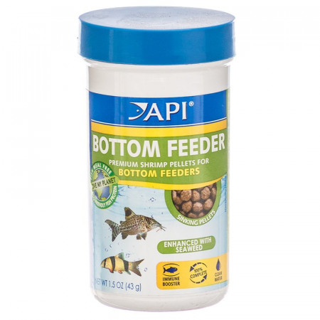 API Bottom Feeder Premium Shrimp Pellet Food alternate img #1