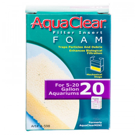 AquaClear Filter Insert Foam alternate img #1