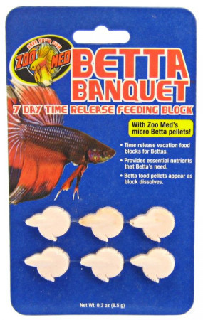 Betta Banquet 7 Day Time Release Feeding Block alternate img #1