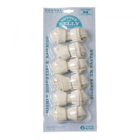 Better Belly Rawhide Dental Bones - Mini alternate img #1
