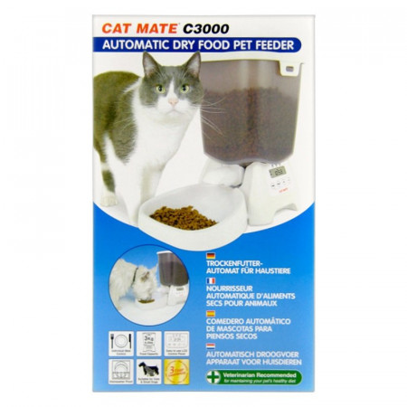 Cat Mate C3000 Automatic Dry Food Pet Feeder alternate img #1