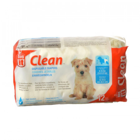 DogIt Clean Disposable Diapers - Small alternate img #1