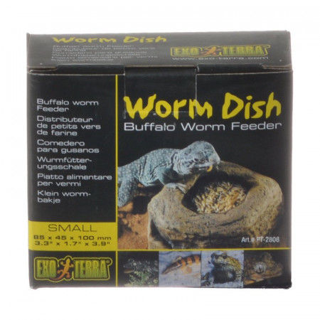 Exo Terra Worm Dish alternate img #1