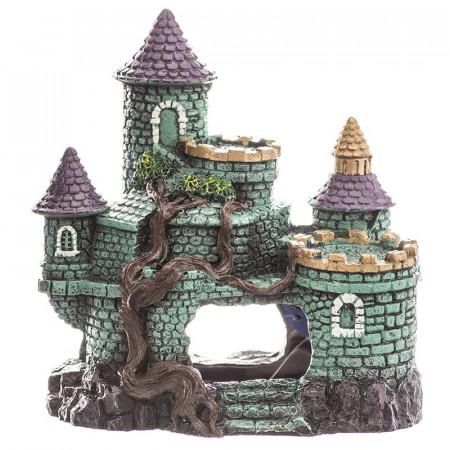 Blue Ribbon Exotic Environments Hobbit Castle Aquarium Ornament alternate img #1