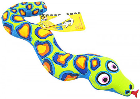Fat Cat Incredible Strapping Yankers Snake Dog Toy alternate img #1