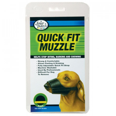 Four Paws Quick Fit Muzzle alternate img #1