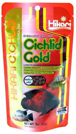 Hikari Cichlid Gold Floating Medium Pellet Food alternate img #1