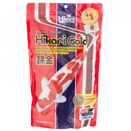 Hikari Gold Floating Medium Pellet Koi Food alternate img #1