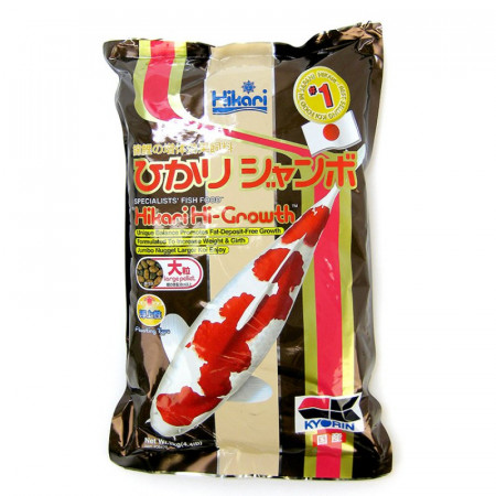 Hikari Hi-Growth Floating Large Pellet Koi Food alternate img #1