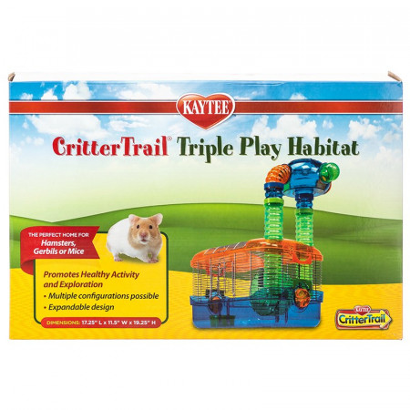 Kaytee CritterTrail Triple Play Habitat alternate img #1