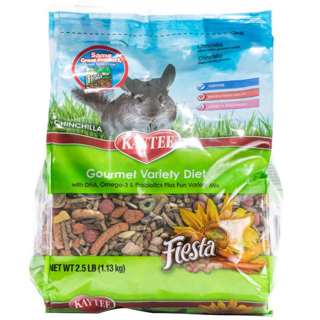 Kaytee Fiesta Chinchilla Gourmet Variety Diet alternate img #1