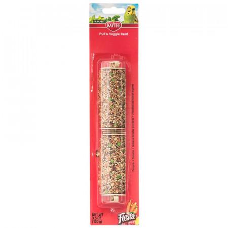 Kaytee Fiesta Fruit & Veggie Treat Stick - Parakeet alternate img #1