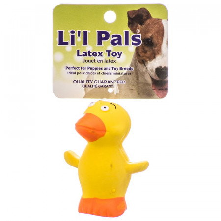 Lil Pals Latex Duck Dog Toy alternate img #1