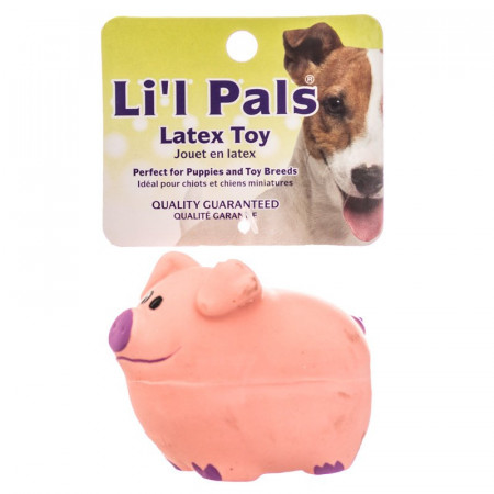 Lil Pals Latex Pig Dog Toy alternate img #1