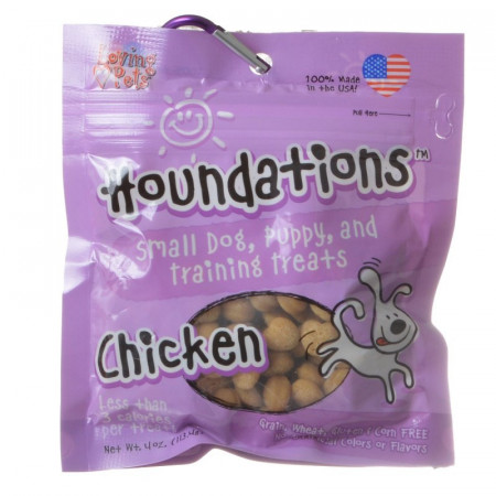 Loving Pets Houndations Training Treats - Chicken alternate img #1