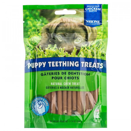 N-Bone Puppy Teething Treats - Chicken Flavor alternate img #1
