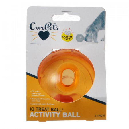 OurPets IQ Treat Ball Toy alternate img #1