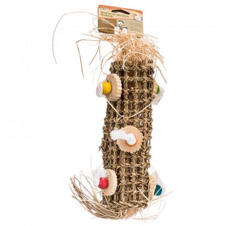 Penn Plax Bird Life Natural Weave Kabob for Birds alternate img #1