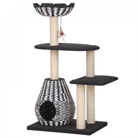 Pet Pals Contemporary 4 Level Cat House alternate img #1