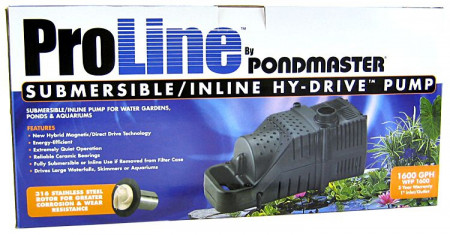 Pondmaster ProLine Hy-Drive Pump alternate img #1